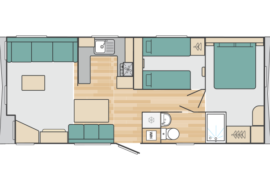 Burgundy - floorplan 28x12