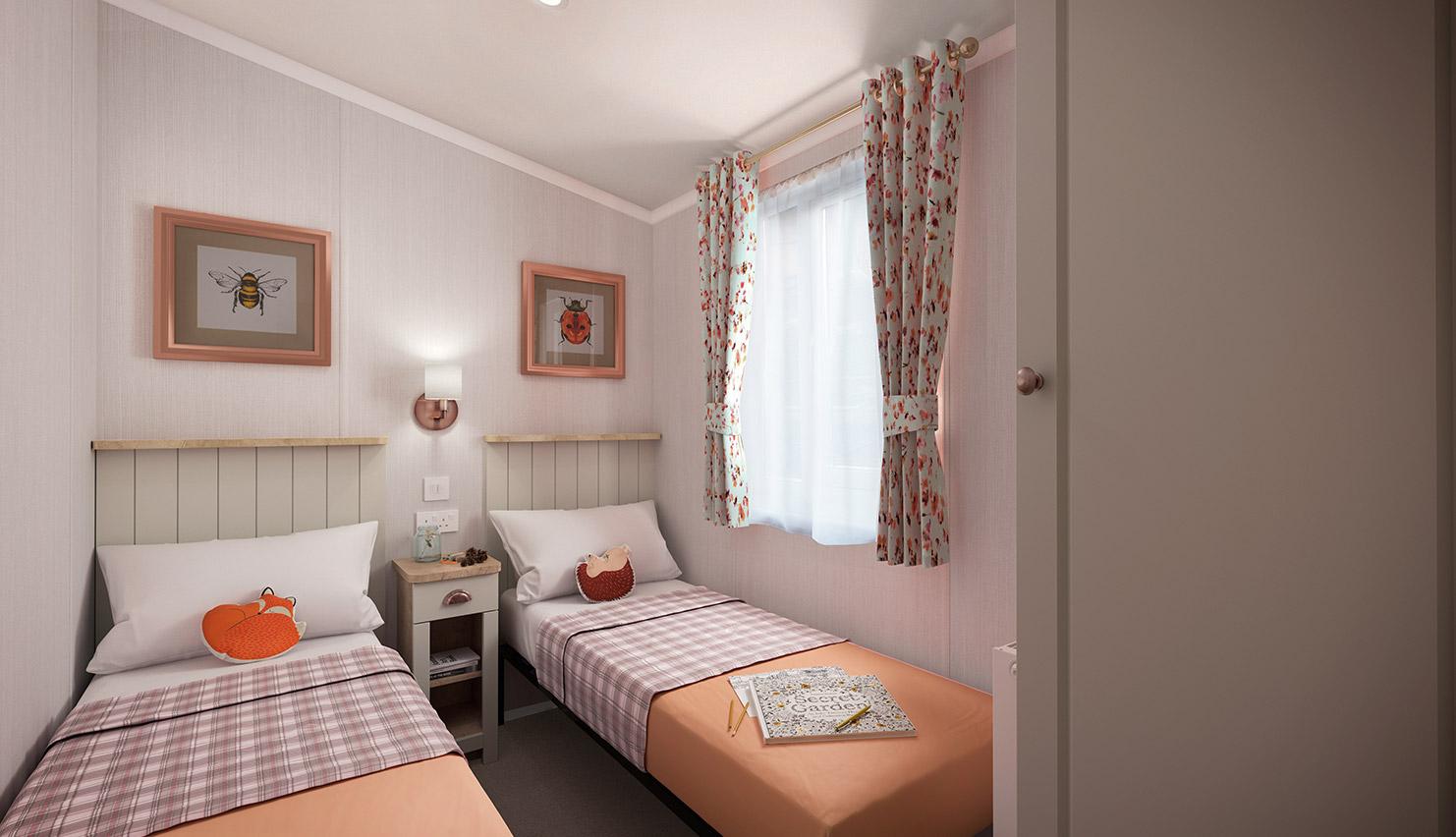 Vendee - 40x12 twin bedroom