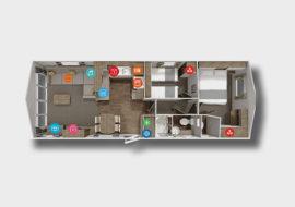 Avonmore 32x12 - 2 bed-01