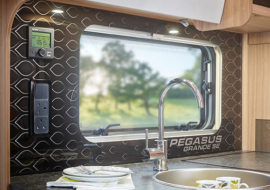 Pegasus-Grande-SE-Branded-Perspex-kitchen-splashback-with-silver-detailing
