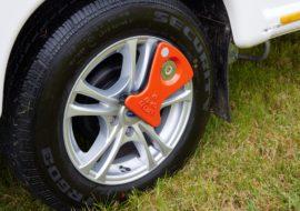 Unicorn V Alloy Wheels & AL-KO secure wheel lock