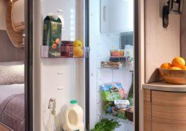 Unicorn V - Dometic 133 litre fridge (Cadiz, Vigo, Cabrera)