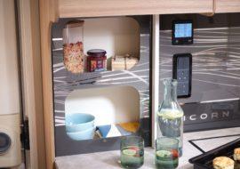 Unicorn V - kitchen storage