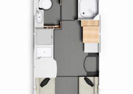 Commodore floorplan